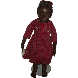 "SALE Beautiful large 27"" Rag Cloth Doll"