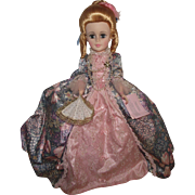 """Gorgeous Madame Alexander """"Marie Antoinette Portrait Doll"""" Mint In Box 21"""" Tall"""