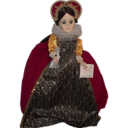 """Gorgeous Madame Alexander """"Mary Queen Of Scots #2252"""" Portrait Doll"""" Mint In Bo"""