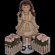 "Very Pretty Vintage Madame Alexander Composition Rare ""Margaret O'brien Doll"" In Ori"