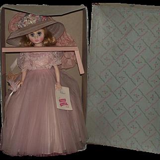 "Gorgeous Madame Alexander ""ELISE"" doll In Original Box 17"" Tall Circa 1961"
