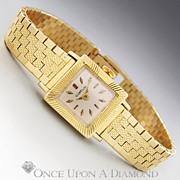 Gubelin Helen Sebastian Solid 18 Karat Yellow Gold Watch