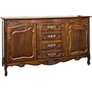SALE Louis XV Style French Provincial Buffet