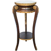 SALE Antique French End Table Louis XV style
