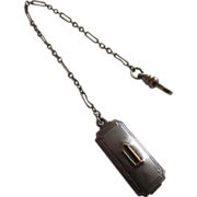 SCHEER Art Deco Watch Chain & Belt Fob - Downton Abbey Alert
