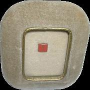 Miniature Bible or Prayer Book in Velvet Frame, Milan Italy
