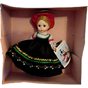 SALE 1950s - 1960s Vintage Madame Alexander Doll of the World Finland 561 MIB