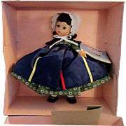 SALE 1950s - 1960s Vintage Madame Alexander Doll of the World Canada 560 MIB
