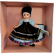 SALE 1950s - 1960s Vintage Madame Alexander Doll of the World Yugoslavia 589 MIB