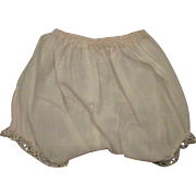 SALE Vintage Cotton Pants Panties for Large Mama or Composition Doll