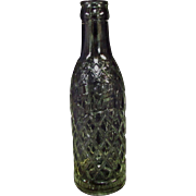 "SALE Vintage 8"" Gem City Clear Soda Pop Bottle"
