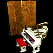 SALE Ideal Petite Princess Screen Piano Bench Metronome