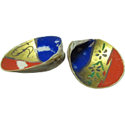 SALE Japanese Vintage Hand Painted Kai awase (貝合) Game Shells