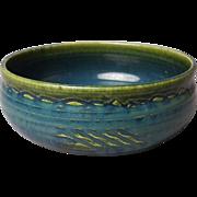 SALE Japanese Vintage Narumi-Oribe 織部焼 Kashiki of Rare Blue and Green  Colors