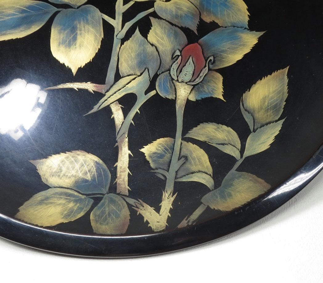 Wajima Japan  city images : Japanese Vintage Wajima nuri 輪島塗 Large Wood and Lacquerware ...