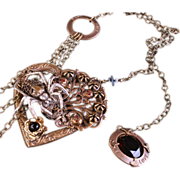 You Pull My Heart Strings Gothic Necklace