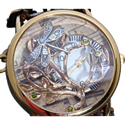 SOLD Steampunk Watch Women Watches Unique Watches Tree Of Life