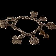 SALE 30-60% OFF STORE WIDE~Sterling Silver Charm(7 ) Bracelet