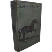 SOLD Black Beauty by Anna Sewell 1936 illustrated by K. F. Barker pub. A. & C. Black