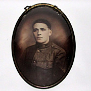 SALE WWI  Photograph of a Soldier in Uniform