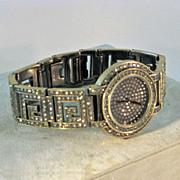 Heidi Daus Watch Quartz Movement Design Bracelet