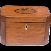 Early 19th c. English tea caddy