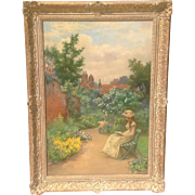 SOLD 19th c. English Oil Painting