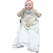 """11"""" Antique Bisque Byelo Baby Doll Sweet!"""