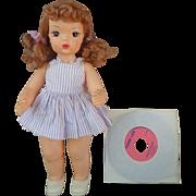 Beautiful Talking Terri Lee Doll All Original with Record 1950's