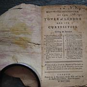 1762 Tower of London Guidebook original