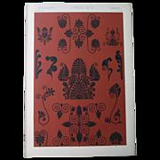 SALE Set of Eight Antique Greek Chromolithographs, 1868: Grammar of Ornament