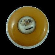 Quaint Bakelite Intaglio Dog Button