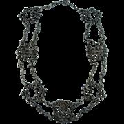 Vintage Italian 800 Silver Necklace