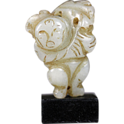 REDUCED Rare chinese jade figure, Ming dynasty, ca. 17th. cent!