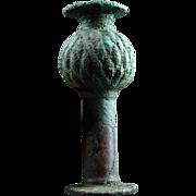 Rare Luristan bronze mace head, 2nd. millenium BC