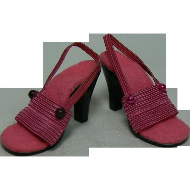 original vintage cissy pink shoes from rubylane