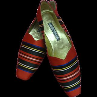 Claudio Merazzi Shoes Vintage Designer Italian
