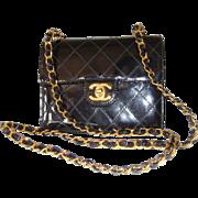 Vintage Authentic Black Chanel Purse