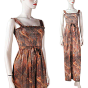 1970's Belted Sundress