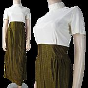 Vintage 1960's Lamé Evening Gown