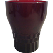 SALE Ruby Windsor Tumbler by Anchor Hocking