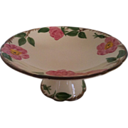 SALE Franciscan Desert Rose Compote / Pedestal Serving Platter