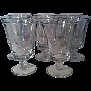 8 Century Iced Tea Goblets by Fostoria