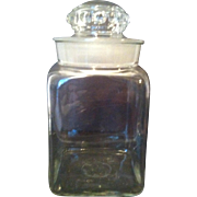 General Store Counter Candy Jar with Ground Stopper