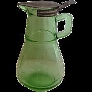 SALE Hazel Atlas Green Syrup