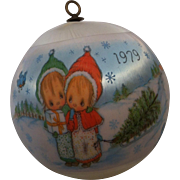 SOLD 1979 Betsy Clark Satin Ornament #7