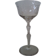 SALE One Salon Liquor Cocktail Stem by Libbey Rock Sharpe