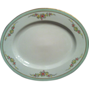 "SALE PT Bavaria Tirschenreuth 12"" Oval Platter The Montrose -4485-"