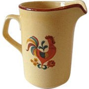 SALE Reveille Red Rooster Creamer by Taylor Smith & Taylor