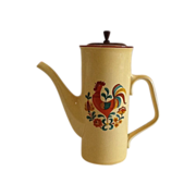 SALE Taylor, Smith&Taylor Reveille Red Rooster Coffee Pot